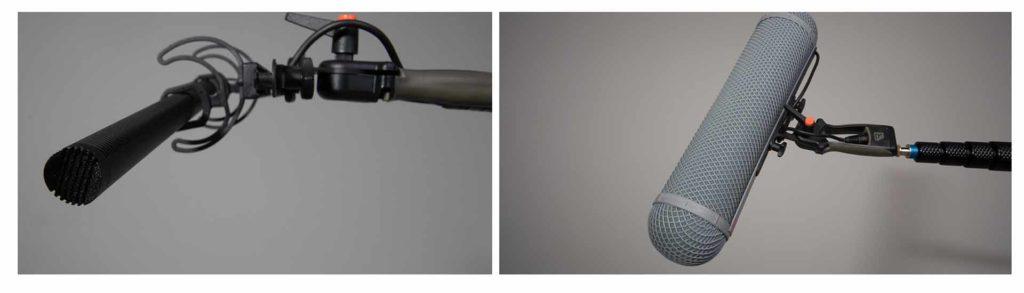 Tonangel mit Mikrofon