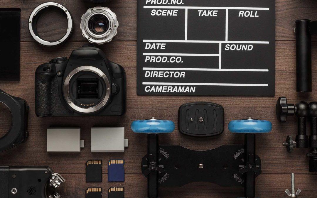 Grundausrüstung für Videoaufnahmen